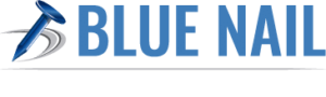 Blue Nail Roofing and Construction REV logo